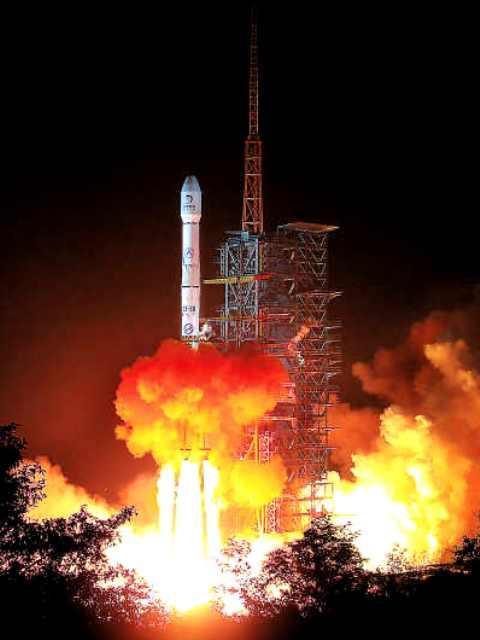 月探査衛星「嫦娥(じょうが)3号」